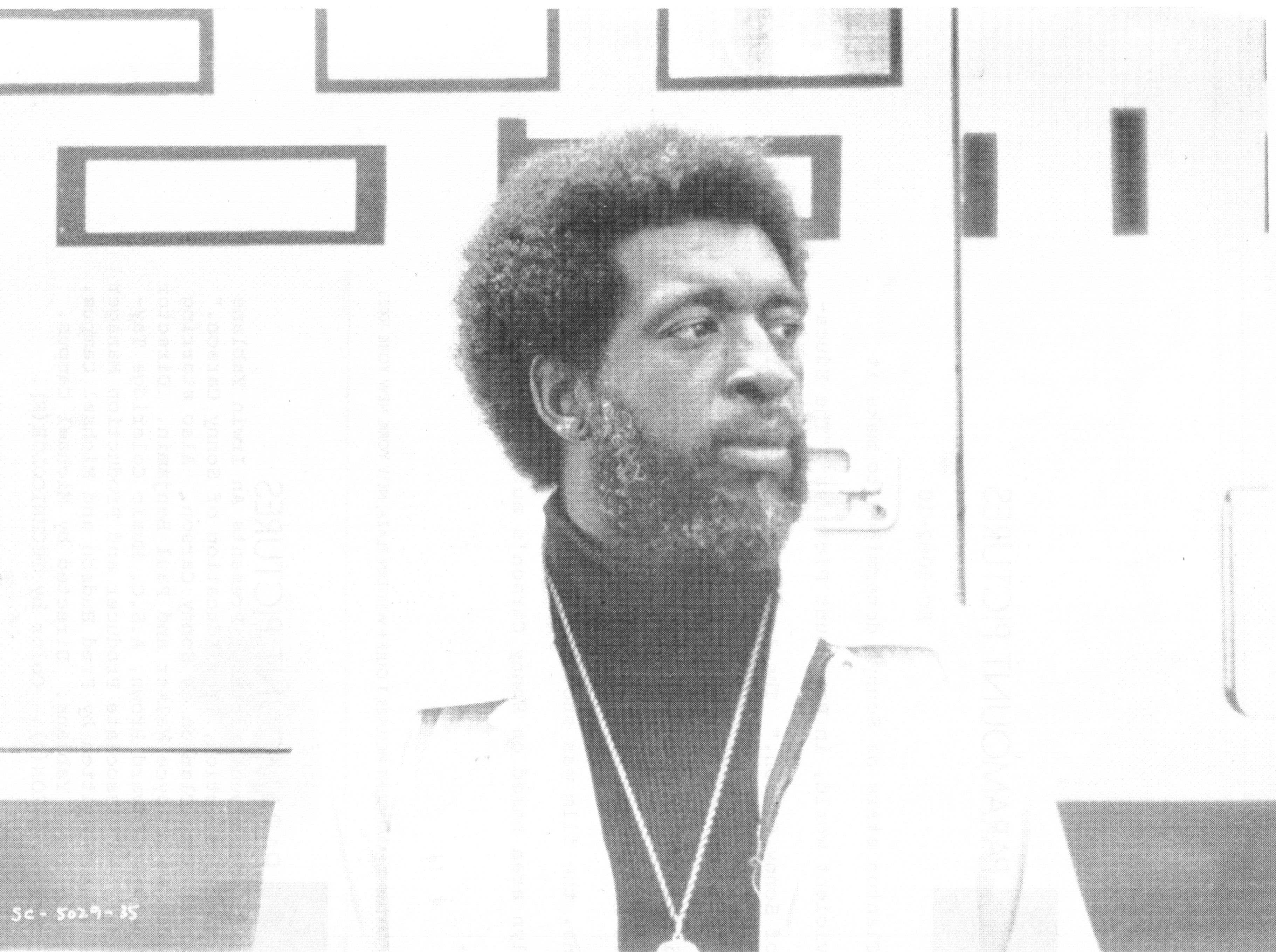 Photo of brooklyn core chairman sonny carson for The carson
