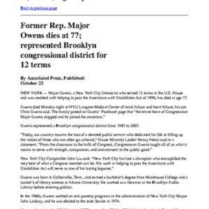 Major Owens obit The Washington Post.pdf